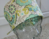 Tie Back Surgical Scrub Hat with Mellow Out