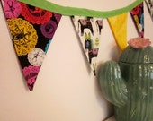 Day of the Dead Party Bunting Banner
