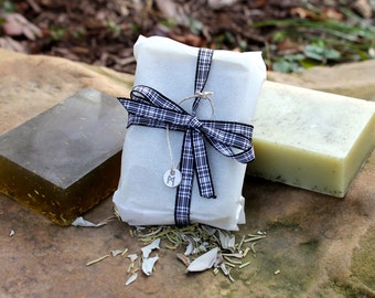 Sage & Rosemary Herbal Soap