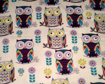 Almost gone.....GEO OWLS  flannel lounge pants/pajama pants children's sizes 0-3 to 6