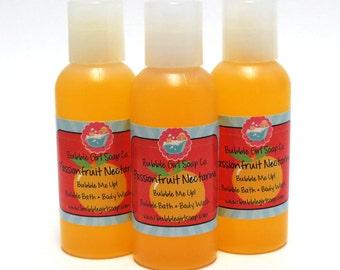 Passionfruit Nectarine Bubble Me Up 2 Oz MINI TRIAL Body Wash Bubble Bath Shower Gel Travel Size