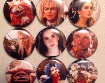 9 Labyrinth Buttons