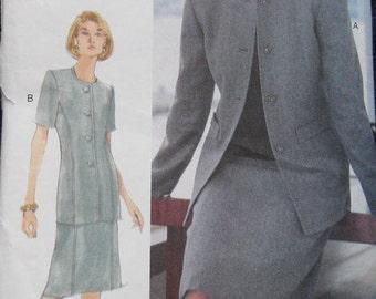 Vogue Woman Jacket Skirt Pattern 9934 Plus Size