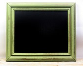 Kitchen Chalkboard Frame Sign 8x10 Frame Photography Prop Celery Green