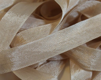 Vintage Seam Binding- Rose Beige