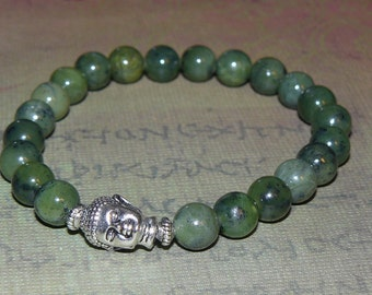 Buddha Jade Unisex Bracelet