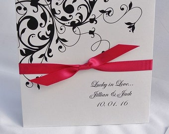 Wedding Reception Favor - Wedding CD Holders - Lottery  Holder - Unique Wedding Favor - Wedding Lotto Favor - Wedding Lottery