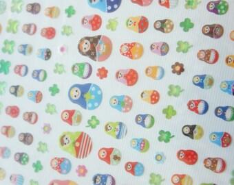 1 Sheet Kawaii Stickers (matryoshka)