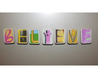 your 7 letter word or name in magnets