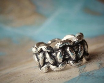 Paracord Jewelry Ring, Paracord Bracelet Ring, Survival Bracelet Ring, Paracord Ring, Carpe Diem Jewelry, Survival Paracord Bracelet Ring