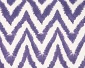 Premier Prints Diva- Thistle on White Slub - Fabric by the Yard Purple Fabric Chevron fabric