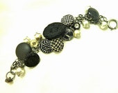 Lovely Vintage Button Bracelet