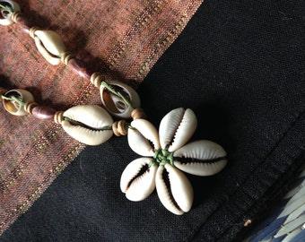 Charming Cowrie Flower Jewelry