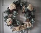 Frosty  Friends Wreath