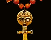 African Fertility Doll and Pure Amber