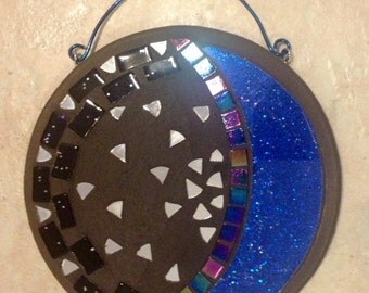 """7"""" Stained Glass Mosaic Plaque"""