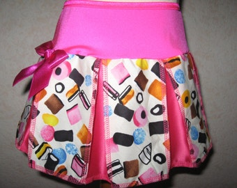 Sequoia,NEW Goth,Punk,Rock, Pink,Black,White sweets skirt-All sizes,Festival,dance,gift