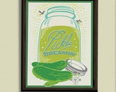 Pickle Dreamin' - 11x14 Poster