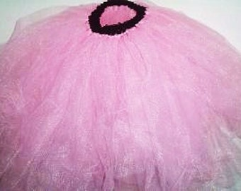 Pink Toddler Tutu, Full and Fluffy Pink Tutu, Girls Clothing, Size 2T-4T