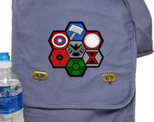 Field Messenger Bag Avengers Assemble Print