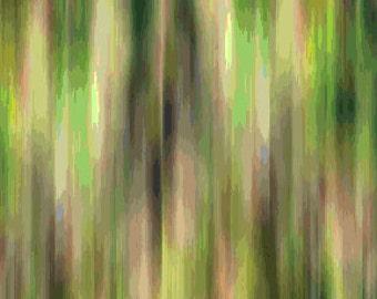 Green Fleurish Royal Benartex Fabric 1 yard