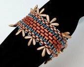 Amalia. Bracelet. Beaded Tutorial