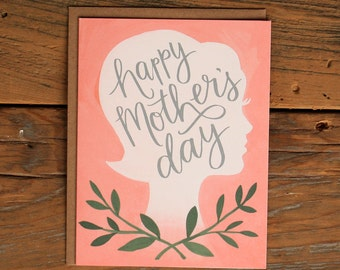 Mother's Day Silhouette