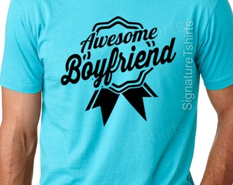 Awesome Boyfriend Valentines Day Gift Tshirt T Shirt