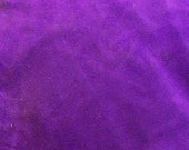 """Bulk Purple Suede Leather by the foot - 36 x 28 cm. (14"""" x 11"""") - Split Chap Cowhide - Leather Work Craft Supply - OlyTeam"""