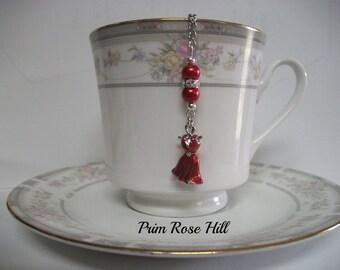 RED DRESS Tea Ball Infuser