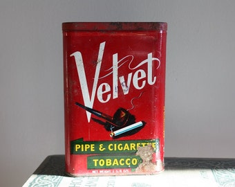 Velvet Tobacoo Tin