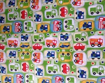 On The Go Cars Fabric By The Yard FBTY