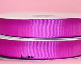 5/8 x 50 yds GROSGRAIN RIBBON - Fuchsia....Save 25%