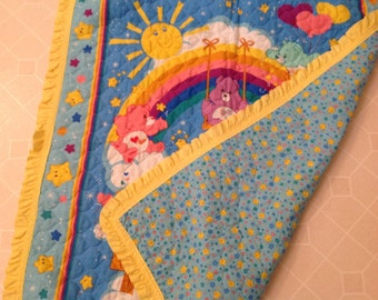 Carebears Reversible Quilt