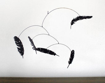 Hanging Mobile | FALLING FEATHER