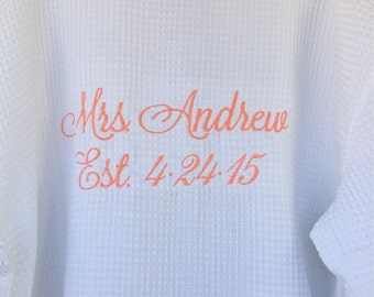Wedding Party Personalized Robes