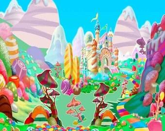 Candy world   Etsy