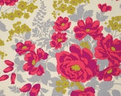 Joel Dewberry Flora Rose Bouquet in Poppy  100% Quilters Cotton Available in Yards, Half Yards and Fat Quarters