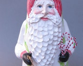 Father Christmas in White