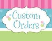 Custom Christmas Stocking Order for Kyle P.