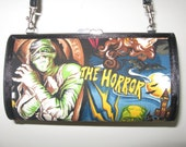 Classic Monster Movie Purse Clutch