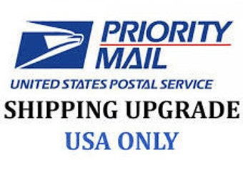 Priority Mail Upgrade for One Item