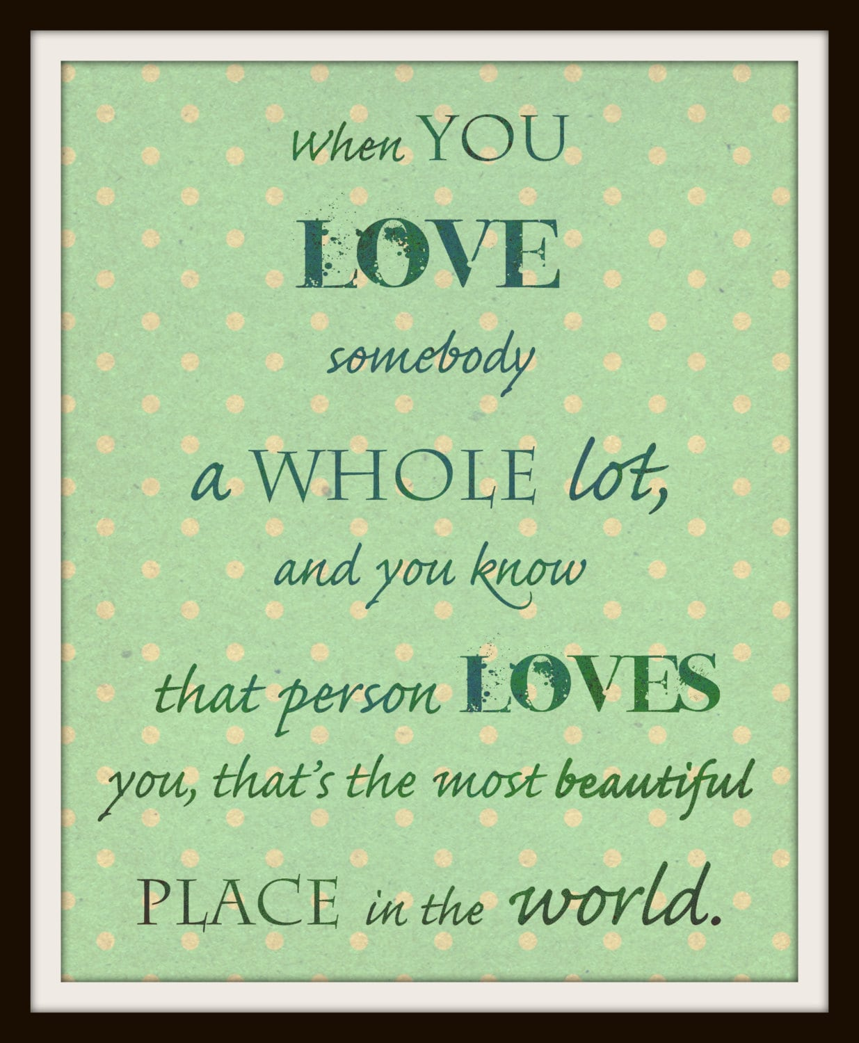 Love Quote Art Print Childrens Book By Ann Cameron Quotes 8 X