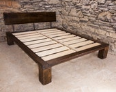The Lakeside - Modern Platform Bed from Reclaimed Wood