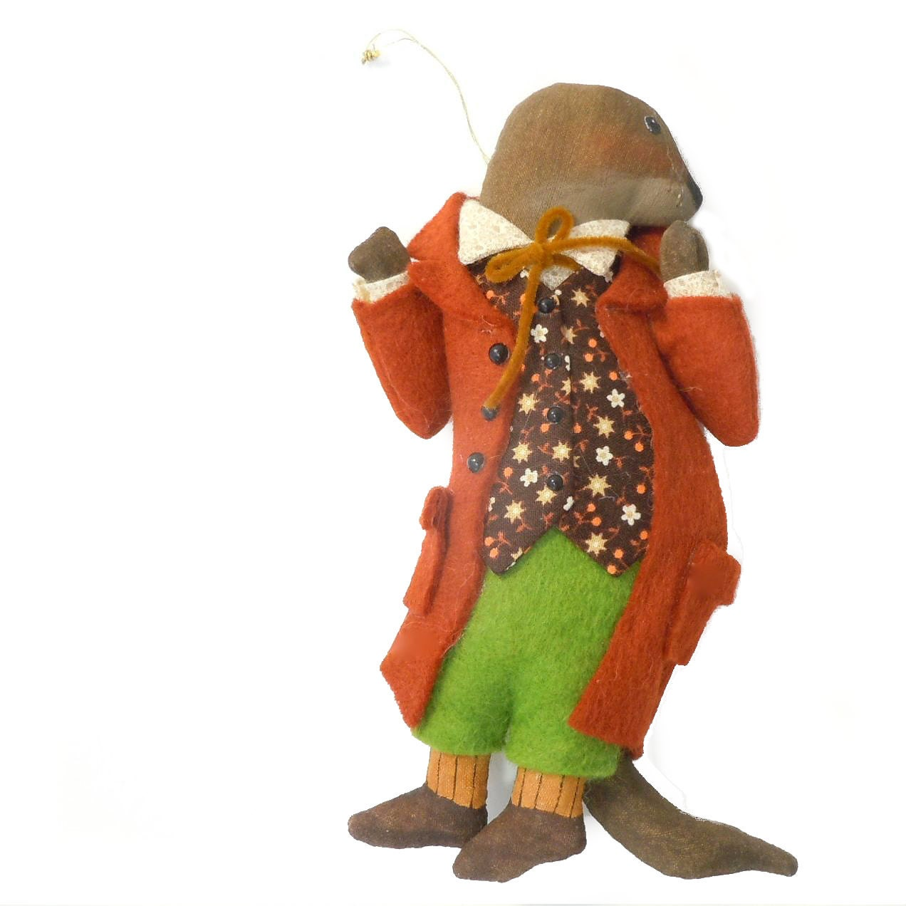 Wind in the willows ornaments -  Wind In The Willows Christmas Ornament Signed Zoom