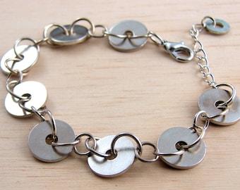 Hardware Chain Bracelet Hardware Jewelry Geometric Circle Bracelet