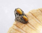 Antique Sterling Ring Arts and Craft Jewelry R6160