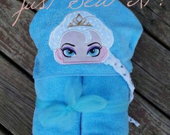 Norwegian Queen hooded bath towel