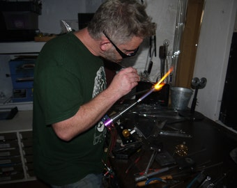 Half day Borosilicate Glass Flameworking Taster Session Workshop Course