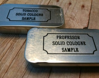 The Tobacco Lounge  Solid Cologne Stick Samples